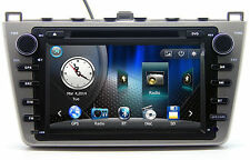 "8"" Touch Screen Stereo Radio Car DVD Player GPS Navigation For Mazda 6 +3D Maps"