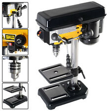 "Electric 300W 8"" 5 Speed 760-3070 RPM Mini Drill Press Bench w/ Laser LED Light"