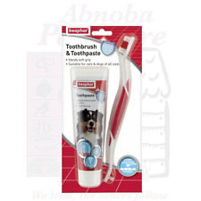 Beaphar Dog Toothbrush Toothpaste Kit Early plaque formation prevent bad breath