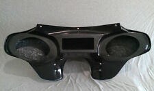 Harley Davidson Road King Motorcycle Batwing Fairing Fiberglass 2 Speaker