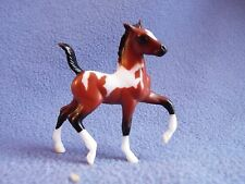 Breyer Stablemates SHADOW BOX  Bay Pinto - TROTTING FOAL ONLY – ADD More SM Free