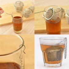 One Practical Tea Ball Spice Strainer Mesh Infuser Filter Stainless Steel Herbal
