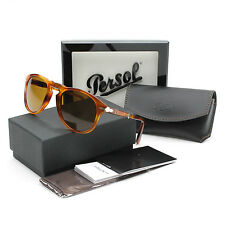 Persol 714 Folding Sunglasses 96/33 Light Havana / Brown Lens PO0714 52 mm