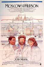 MOSCOW ON THE HUDSON 1984 Robin Williams US 1-SHEET  POSTER #A