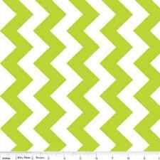 "MINKY CUDDLE Lime Green Chevron Fabric ~ Super Soft! By the Yard ~ 60"" Wide"