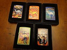 CAMEL MUSIC SERIES CZ 693-CZ 697 ZIPPO LIGHTER SET OF 5 ZIPPOS