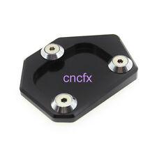 Blk Sidestand Kickstand Extension Pad Fit CB500F/X NC700S CBR500R NC700 Integra