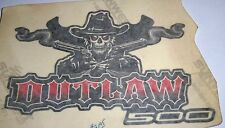POLARIS PURE OEM NOS ATV  OUTLAW STICKER 500 LH 7174374