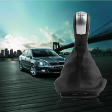 5 Speed Gear Shift Knob Gaiter Boot Dustproof for Skoda Octavia Black New F7