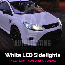 Ford Focus Mk2 ST RS 04-11 Xenon Blanco LED Bombillas De Luz Lateral actualización SIDELIGHTS
