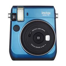 Fujifilm Instax Mini 70 Fuji Instant Film Camera Island Blue