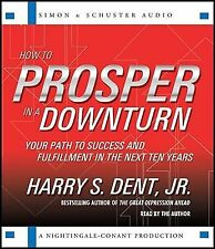 How to Prosper in a Downturn by Harry Dent 2 Audio CD Set NEW
