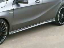 MINIGONNE / SIDE SKIRTS in ABS mod. AMG look per Mercedes classe A w176