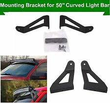 "04-14 F150 Ford Roof Windshield Mounting Brackets for 50"" Curved LED Light Bar"