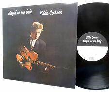 EDDIE COCHRAN Lp Singin' To My Baby RUMBLE UK Reissue Rockabilly MINT- sm158