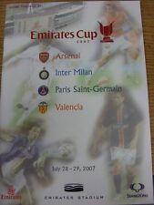 28/07/2007 At Arsenal: The Emirates Cup 2007, Featuring Arsenal, Inter Milan, Pa
