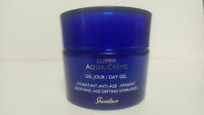 GUERLAIN SUPER AQUA CREME DAY GEL AGE DEFYING HYDRATION 1.6oz NWOB S32C