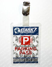 Tony Stark Industries Parking ID Badge Iron Man Cosplay Costume Prop Christmas