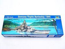 Trumpeter 05712 1/700 Germany Tirpitz Battleship 1944