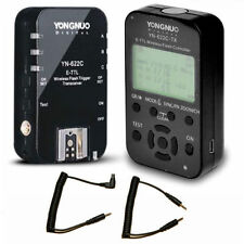 Yongnuo YN-622C-TX+YN-622C Kit Wireless TTL Flash Controller Trigger for Canon