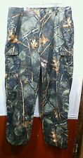 WFS Element Gear Burly Camo Mens XL Camouflage Cargo Hunting Pants NWOT See Pics