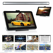 "5"" 8GB CAR TRUCK HGV LGV GPS SAT NAV NAVIGATION + WORLD MAPS + LIFETIME UPDATES"