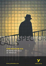 "York Notes on ""An Inspector Calls"", J. B. Priestly Paperback Book The Cheap Fast"