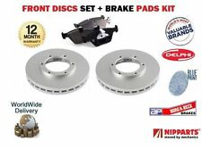 FOR Hyundai Accent - 99 Pony S Coupe MVTi  New FRONT Brake Discs + PADS SET