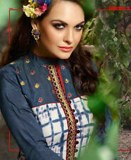 Designer Rayon Printed Kurti Multi Color Casual Wear with Designer Work