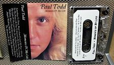 PAUL TODD autograph Moments of My Life piano cassette tape Christian