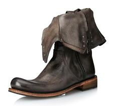 New in Box - $1,398.00 JOHN VARVATOS Black Distressed Brixton Pull-Over Boot 9