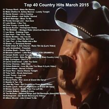 Country Music Promo DVD, Top 40 Country Hit Video's Mar. 2015, NEW ONLY on Ebay!