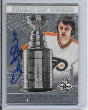 2012-13 Limited - BILL BARBER - Stanley Cup Winners Autograph - FLYERS #d 34/99