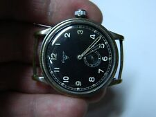 VINTAGE GERMAN WAGNER LUFTWAFFE MILITARY WATCH UROFA 58 FOR PARTS OR TO RESTORE