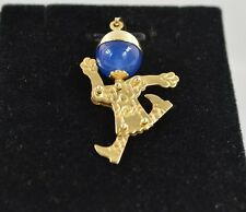 CW64     14k gold 3-d Vintage Little boy with Moveble hands,feet,head.