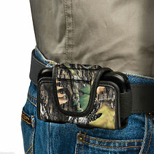 Mossy Oak Camo Cell Phone Smartphone Case Pocket Rotating Clip MO-CPP Protector