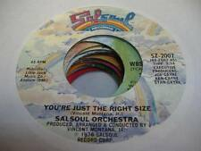 Soul Unplayed NM! 45 SALSOUL ORCHESTRA You're Just the Right Size / Chicago Bus