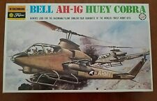 RARE Vintage Bachmann Fujimi 1:48 BELL AH-1G HUEY COBRA Model Helicopter Kit