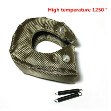 UNIVERSAL T3 Titanium Turbo Blanket Heat Shield Barrier Turbo charger Cover Wrap