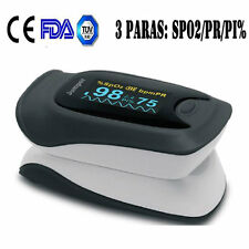 FDA Fingertip Pulse Oximeter Finger Blood Oxygen SpO2 PI PR Heart Rate Monitor