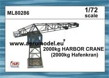 2000kg Harbor Crane (2000kg Hafenkran) resin + photoetched Kit 1:72 CMK ML80286