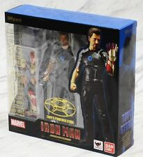 BANDAI TAMASHII S.H.FIGUARTS IRON MAN - TONY STARK + POWERED STAGE FIRST RELEASE