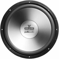 "DB1240 Polk Audio 12"" Single Voice Coil Subwoofer Single Black"