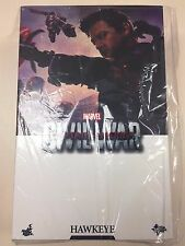Hot Toys MMS 358 Captain America 3 Civil War Hawkeye Jeremy Renner Figure NEW
