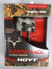 Hoyt Arrow  Quiver For Satori Recurve Bow Arrow Rack 4 Arrow Reaper Camo 2 Piece