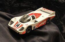 Corgi Porsche 956 1985 red/white Canon 1/43 scale