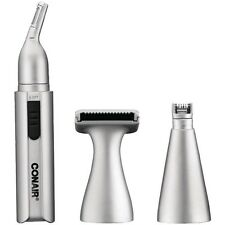 CONAIR NT1 Personal Grooming Kit, Nose/Eyebrow/Ear Detail Hair Trimmer