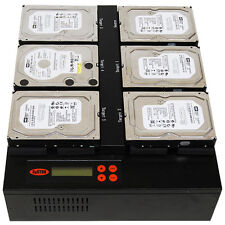 SySTOR Flatbed 1-5 SATA 150MB/sec Multi HDD Hard Drive Duplicator Copy System