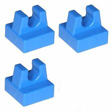 Missing Lego Brick 2555 Blue x 3 Tile 1 x 1 with Clip