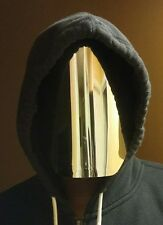 Faceless mirrored Mask, mirror face mask,